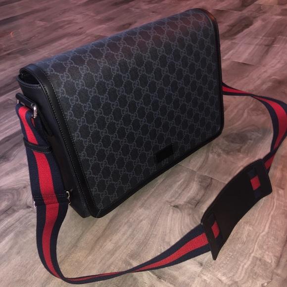 9125e4f0 Gucci messenger bag (men's) NWT